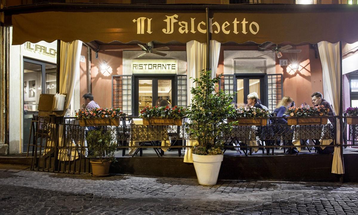 Mangiare a Roma - Il Falchetto è uno dei migliori ristoranti situato a pochi passi dalla Fontana di Trevi, in pieno centro storico a Roma